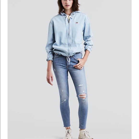Levi's Denim - Levi's Wedge Skinny Button Fly Jeans